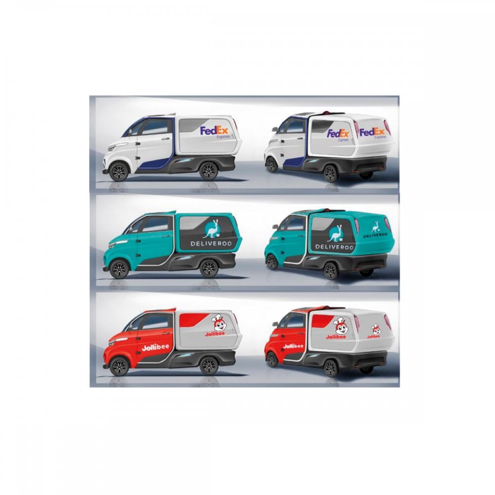 Eride Cargo Delivery Van J2-P130H